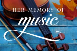 Her Memory of Music | Cover Reveal